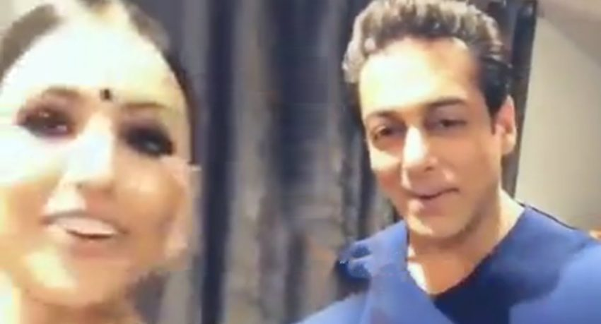 Salman Khan Live Video Chat With Lucky Fan At Vancouver | Dabangg